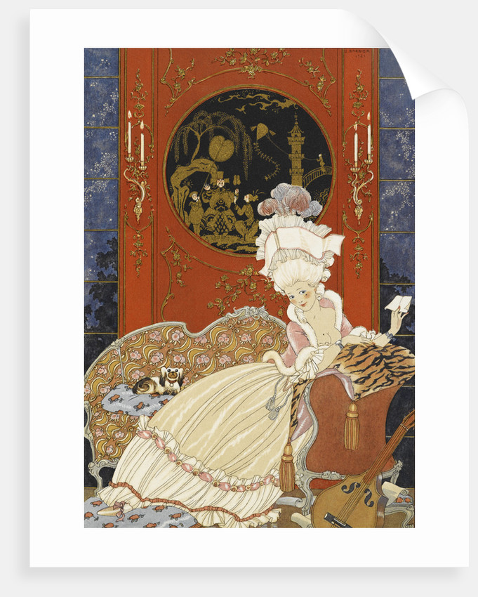Lettre by George Barbier
