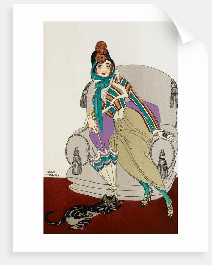 Parissienne fashion plate by Gerde Wegener