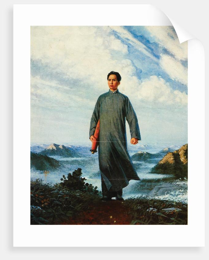 Chairman Mao goes to Anyuan by Liu Chunhua