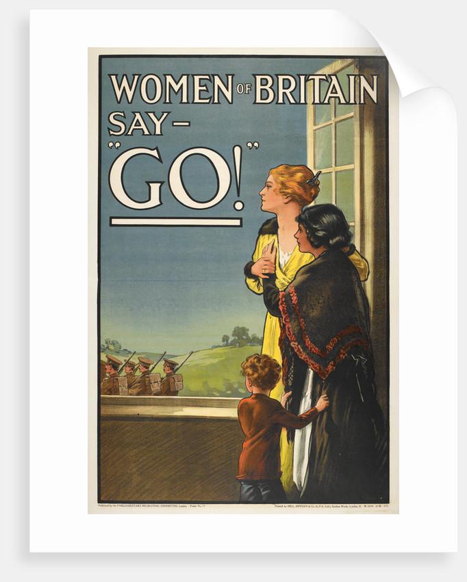 Women of Britain say Go! by E V Kealy
