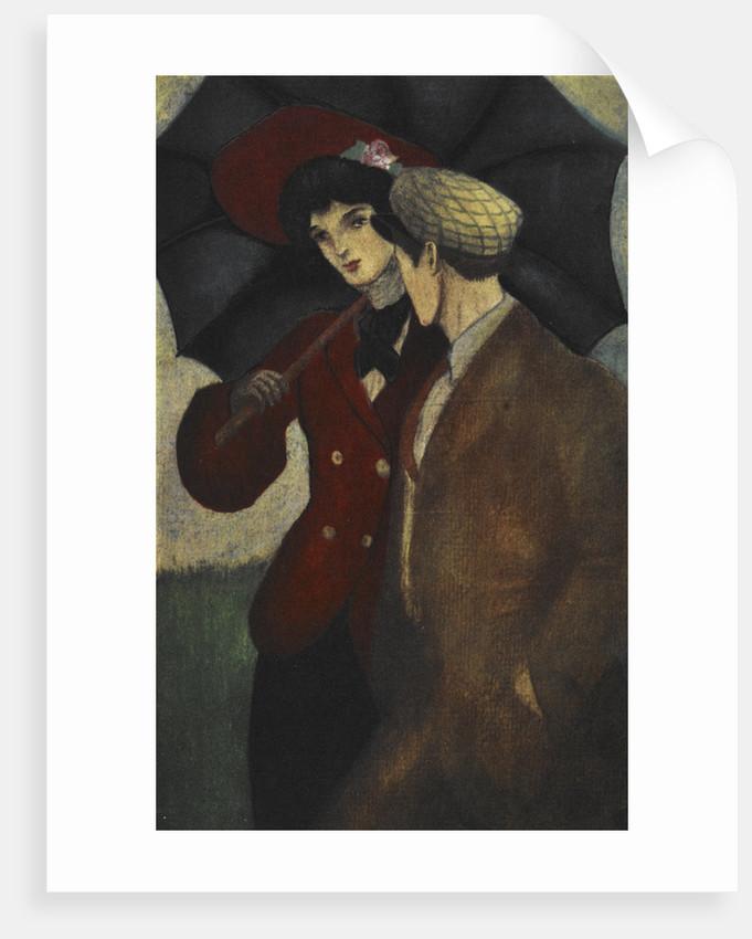James Vane with his sister Sibyl print by Majeska