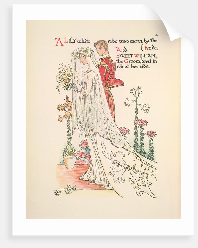 A Flower Wedding by Walter Crane