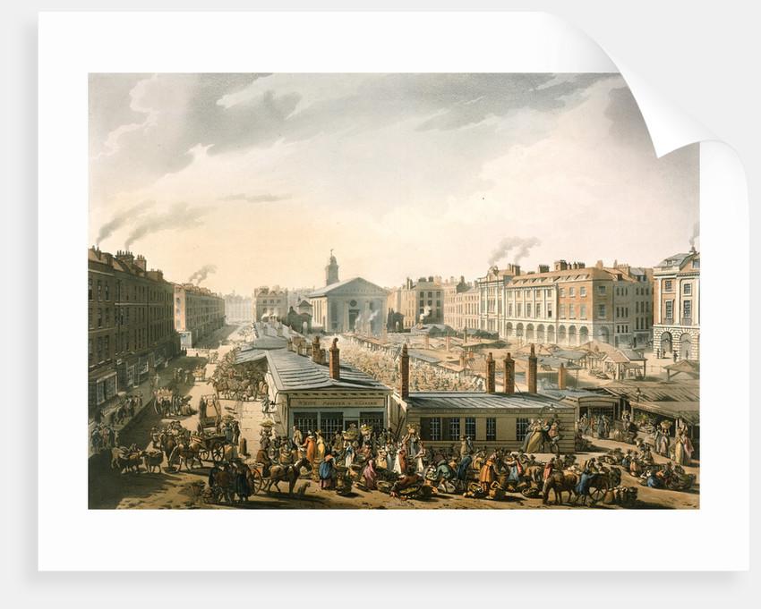 Covent Garden market by Pugin Rowlandson
