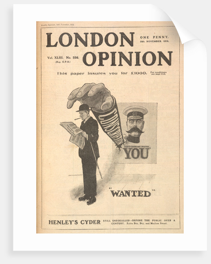 Wanted: Your Country Needs You by Anonymous