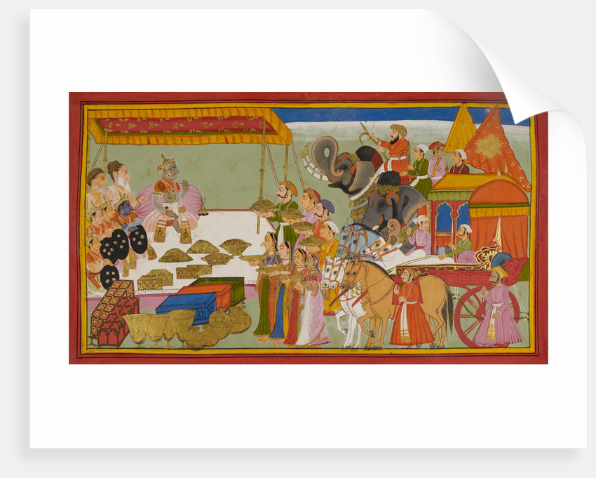 Sita's wedding dowry by Anonymous