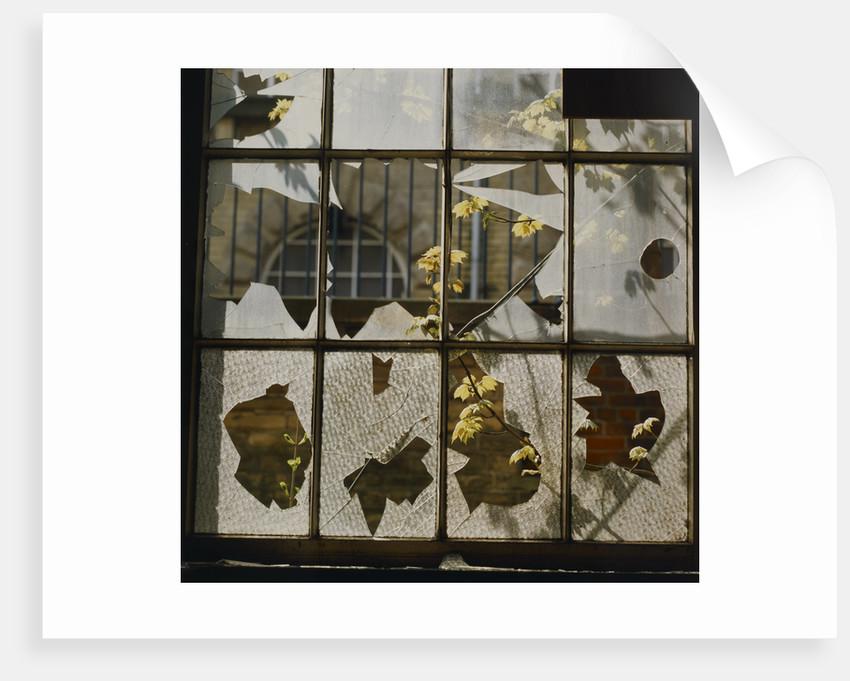 Broken window by Fay Godwin