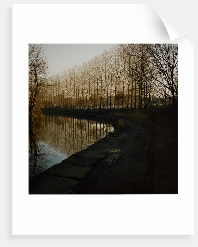 Canal in Bradford by Fay Godwin