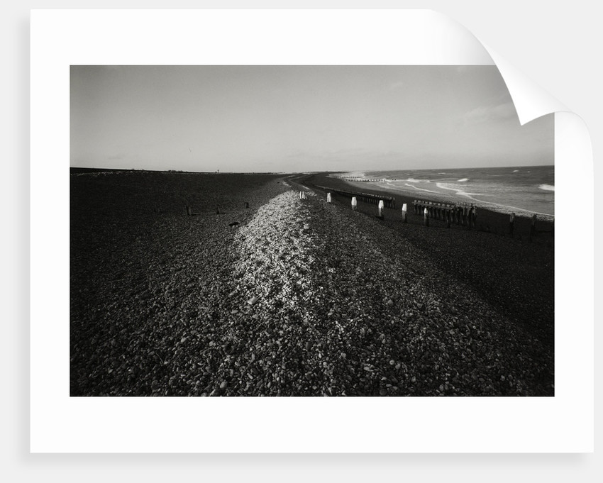 Shingle beach by Fay Godwin