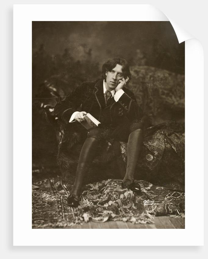 Portrait of Oscar Wilde by Napoleon Sarony