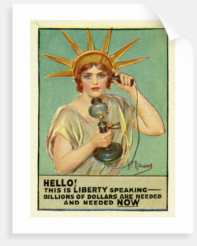 Liberty Calling by Anonymous