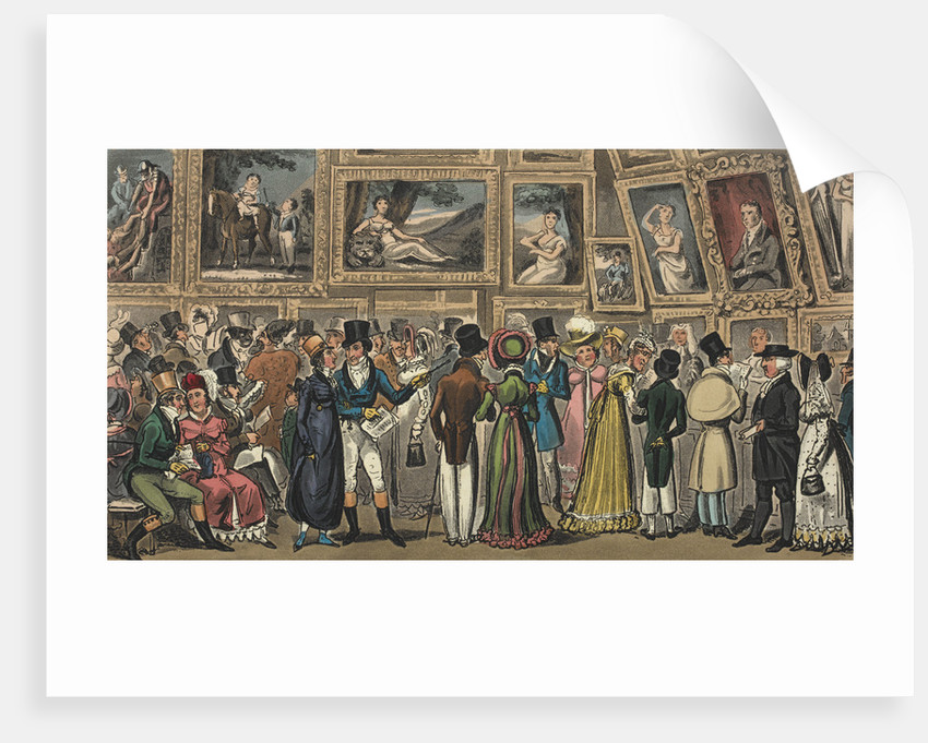 Tom and Jerry at an exhibition by George Cruikshank