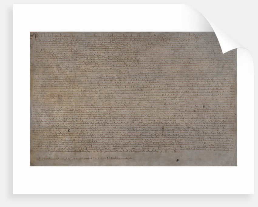 Magna Carta (1215) by Anonymous