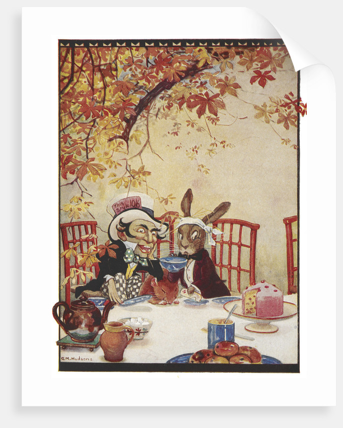 The Mad Hatter's Tea party by Gwynedd M Hudson