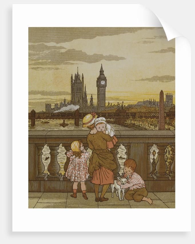 London Town by Thomas Crane