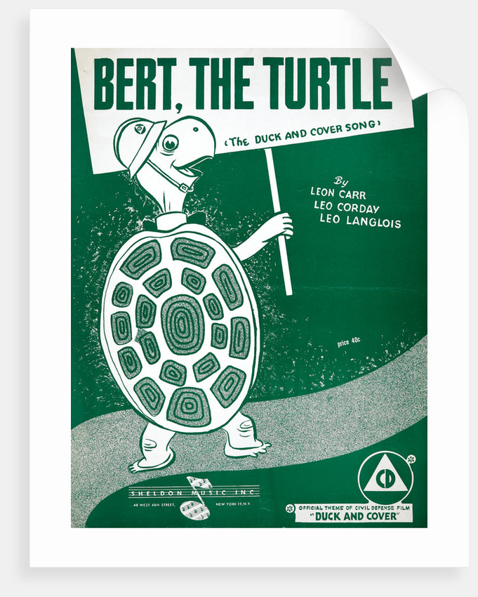 Bert, the Turtle: The Duck and Cover Song by Anonymous