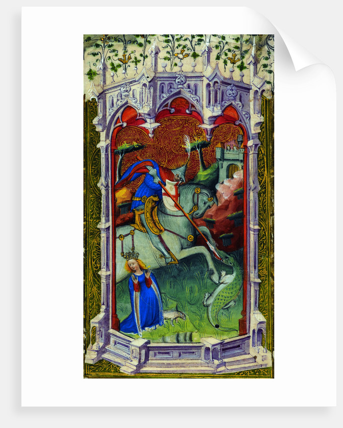Saint George by Associate of the Beaufort Saints Master