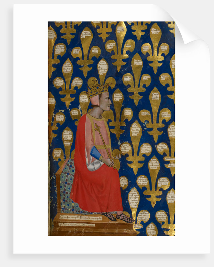 Robert of Anjou, King of Naples by Anonymous
