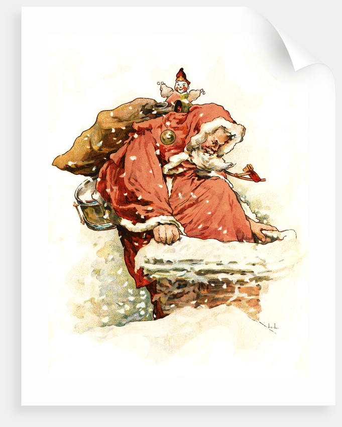 Father Christmas by Lizzie Lawson