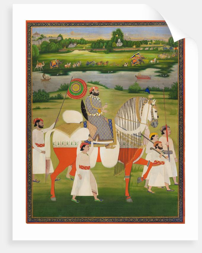 Maharaja Mohkam Singh of Kishangarh by Anonymous