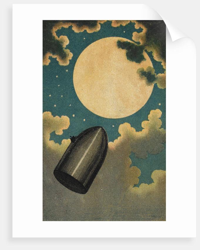 The Moon Voyage by Emile Antoine Bayard