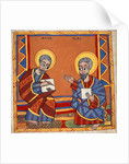 Saint Luke and Saint John the Evangelists by Anonymous