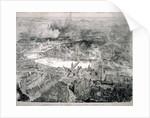 Bird's-eye view of London by W L Wyllie