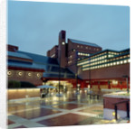 The British Library at night by The British Library