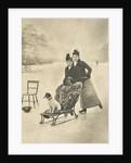 Skating ladies by H Stevens