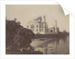 View of the Taj Mahal from the banks of the Jumna by Anonymous