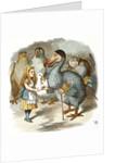 The Caucus-Race by Sir John Tenniel