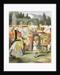 The angry Queen of Hearts by John Tenniel