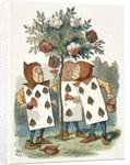The playing cards by Sir John Tenniel