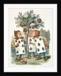 The playing cards by Sir John Tenniel