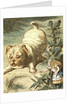 Dash the puppy by Sir John Tenniel