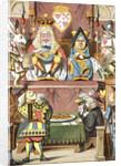 Inspecting the tarts by John Tenniel