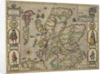 Map of Scotland by John Speed