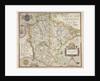 Map of Devon by Christopher Saxton