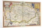 Map of Norfolk by Christopher Saxton