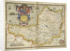 Map of Somerset by Christopher Saxton