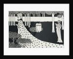 La Beale Isoud at Joyous Gard by Aubrey Beardsley