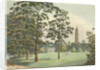 A view of Kew Gardens by F. L. Mannskirsch