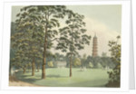 A view of Kew Gardens by F. L. Mannskirsch