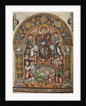 King David with musicians, from The Vespasian Psalter by Anonymous