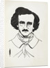 A Portrait of Edgar Allan Poe by Aubrey Beardsley