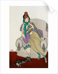 Parissienne fashion plate by Gerde Wegener
