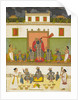 Krishna worshipped under the form of Srinathji  by Anonymous