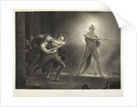 Hamlet and the Ghost by R. Thew