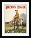 Remember Belgium: Enlist Today by Anonymous