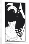 Masked man by Aubrey Beardsley