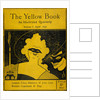 The Yellow Book cover by Aubrey Beardsley